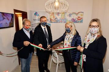 Menarini_Fondazione Tommasino Bacciotti_donazione casa Paolo Bacciotti_Alberto Giovanni e Lucia Aleotti_B Bacciotti