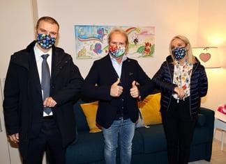 Menarini_Fondazione Tommasino Bacciotti_donazione casa_ Paolo Bacciotti_Alberto Giovanni e Lucia Aleotti